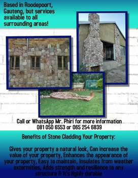 Stone cladding and house renovation