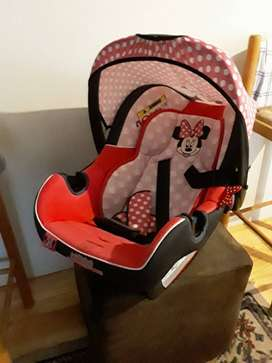 Minnie mouse baby car seat for sale