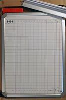 Tablica biała magnetyczna planowa 45x60 60x90 suchościeralna biurowa