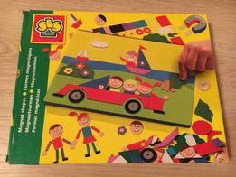 Продам новый детский магнитный набор - картинку от 3 лет