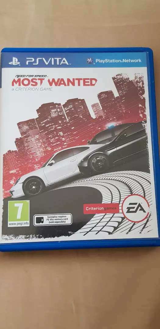 Ps vita : need for speed (Most wanted ) 0