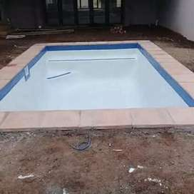 SWIMMING POOLS AND LAND