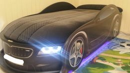 Удобная Для ребенка Кровать Машинка, BMW/БМВ + Бесплатная доставка