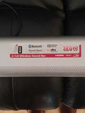 Lg Sound Bar only...