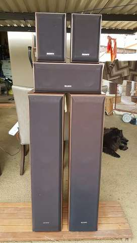 SONY set of Loudspeakers