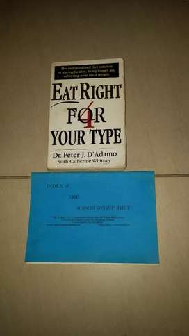 Book Eat right for your type