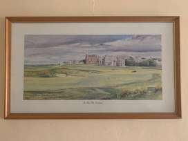 St. Andrews picture frame