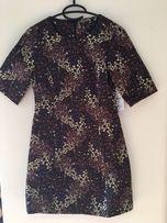Sukienka ZARA w kwiaty XS