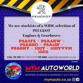 Used Peugeot engines for sale