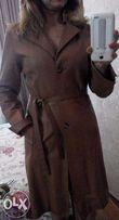 Пальто кожаное Moda Danko