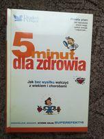 Nowa zafoliowana książka 5minut dla zdrowia