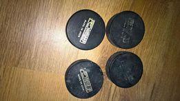 cztery krążki hokejowe USSR CCCP Polumeer
