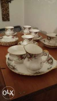 Image of Royal Albert Celebration tea set