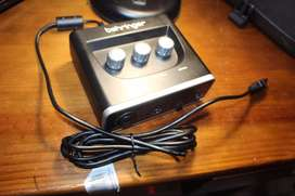 Microphone and Audio Interface