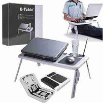 Подставка охлаждающая складной столик для ноутбука E-Table