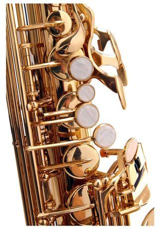 NOWY Sakskofon altowy niemiecki Kirstein złoty M408 Zgorzelec - image 3