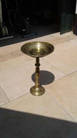 Brass    collection dish