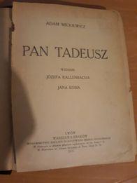Pan Tadeusz Kallenbach Lwów 1921