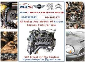 ALL MAKES AND MODELS OF CITROEN ENGINES  FOR SALE