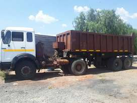 Mercedes Truck and Trailer for sale