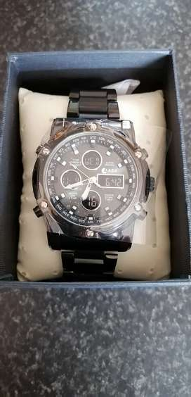 Chronograph Watch for sale, never worn, brand new out of the box