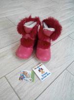 Зимние натуральные сапожки/ботинки Шалунишка 30 р