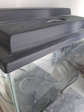 Fish Tank: with black lid, neat condition