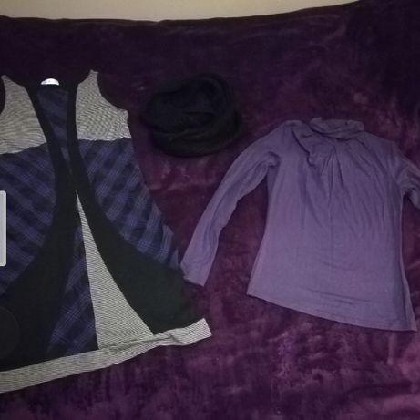 Mega paka ubrań zimowe s m sieciowe 17 szt zestaw6 Gdynia - image 4
