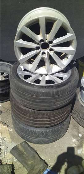 bmw f10 rims 18'' for sale