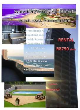 Luxury 3 bedroom beach flat