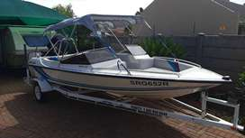 Swift 170 125 Mercury Ski Boat