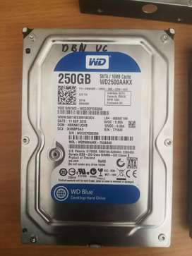 x3 250gb hard drives for R300