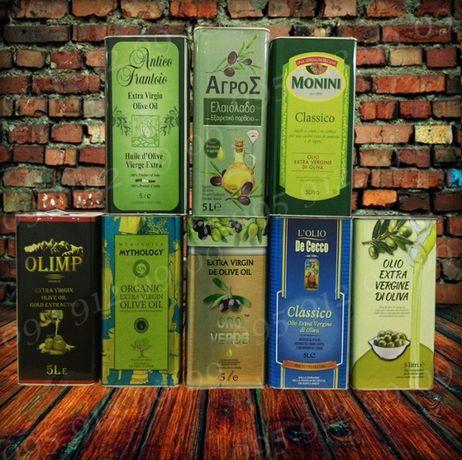 Оливковое масло Оливкова олія 5л. жестяна банка Масло оливковое