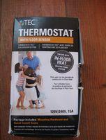 Программируемый термостат TEC ADG-4999-HB УЗО+АВТОМАТ Теплый пол