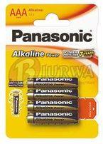 4x Bateria alkaiczna Panasonic Power LR03/AAA