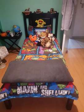 Children's stained Pine bed set