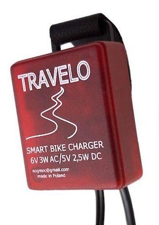 Travelo - rowerowa ładowarka smartfona zasilana prądnicą Shimano Gliwice - image 1