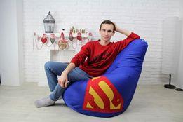 Кресло Груша Мешок Пуфик ‣ Доставка по Украине.+подушка в подарок