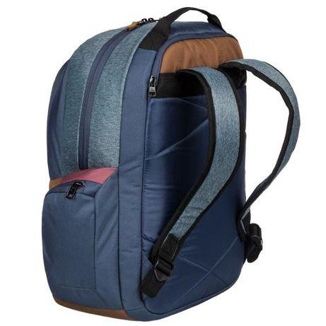 Рюкзак Quiksilver Schoolie Medium Backpack Black Check Denim Оригинал Николаев - изображение 8