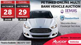Timed Online Multi Bank Vehicle Auction