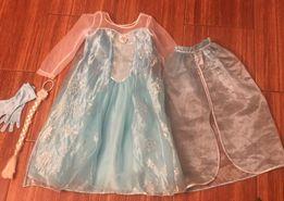 Sukienka Kraina Lodu H&M 122-128