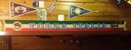 Szarfa,szalik Forza Italia-Lublin/wysyłka