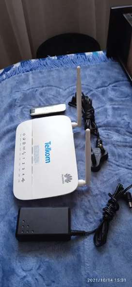 HUAWEI 3&4G ROUTER WITH TELKOM MODEM