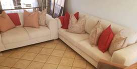 4 Seater + 2 seater Couches