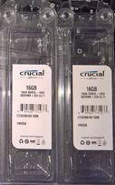 Память Crucial 32GB (2x16GB) 64GB (4x16GB) PC3-12800 DDR3-1600 sodimm