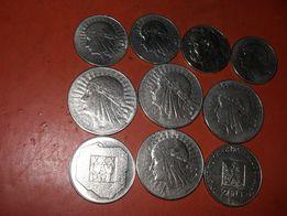 Набор монеты довоенная Польша оригиналы все серебро