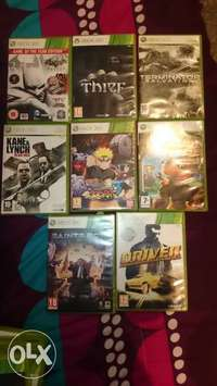 Image of xbox 360 games