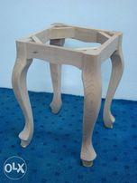 stelaż drewniany do taboretu styl ludwik, rama, nogi, producent