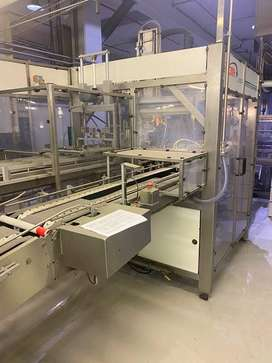 Tecma EVZA 2400 tray forming, batch preparation and packing