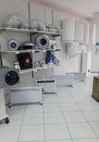 Монтаж вентиляционных систем, промышленные и бытовые вентиляторы,